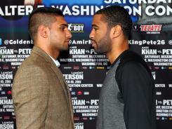 Super Lightweight champion Amir Khan and Lamont Peterson will meet Dec. 10 in Washington D.C. in a title fight.