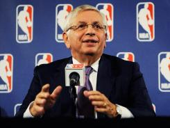 During the 1998-99 lockout, the only work stoppage in league history, NBA Commissioner David Stern began canceling regular-season games Oct. 8.