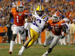 Florida will have to win at LSU without starting quarterback John Brantley.
