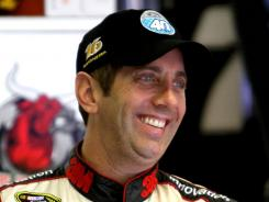 Greg Biffle circled Kansas Speedway's 1.5-mile track in 30.88 seconds, best among the 46 cars that ran Friday.