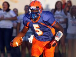 Hillcrest (Springfield, Mo.) wide receiver Dorial Green-Beckham set a state record Friday with 354 receiving yards.