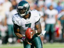 Sunday's single-game NFL coverage, featuring Michael Vick's 1-4 Eagles lose to the surprising Bills, fell 16% from 2010.