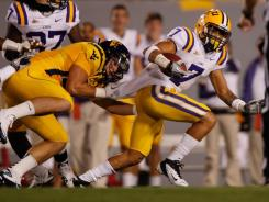 """Honey Badger"" is the new nickname for 5-9, 180-pound LSU cornerback Tyrann Mathieu, a freshman All-American last year who leads the Southeastern Conference in fumbles forced and recovered."