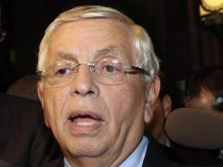 NBA Commissioner David Stern has canceled the first two weeks of the regular season and &quot;further reductions&quot; are likely.