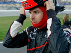 "Will Power, pictured, has called Dario Franchitti a ""princess"" on Twitter and said the championship contenders don't necessarily get along."