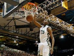 Kevin Durant, dunking during the South Florida All-Star Classic last weekend, will be one of multiple NBA stars to participate in the Oct. 23 exhibition game in Oklahoma City, home of Durant's Thunder.