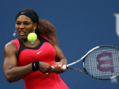 Serena Williams, seen here at the 2011 U.S. Open, will join Samantha Stosur, Kim Clijsters, and Maria Sharapova at the event in Brisbane, Australia in January.