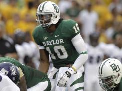 Through five games, Baylor quarterback Robert Griffin III is the nation's second-rater passer, the Bears are 4-1.