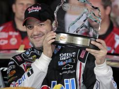 Tony Stewart last started on the pole 45 races ago at Pocono Raceway in August 2010.