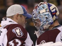 Offseason acquisitions Jean-Sebastien Giguere and Semyon Varlamov have given the Avalanche the goaltending they lacked last season.