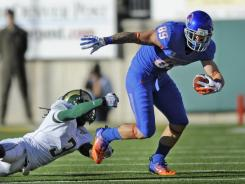 Boise State made its on-field debut in the Mountain West on Saturday at Colorado State, but the Broncos might be pulling away from that league soon.