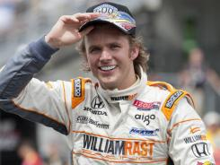 Dan Wheldon, 33, won the 2011 Indianapolis 500 and was aiming to win Sunday's IndyCar finale in Las Vegas before a horrific crash claimed his life.