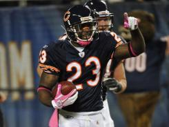 Devin Hester extended his NFL record for return touchdowns with a career-long 98-yard kickoff return in the Bears' rout of the Vikings.