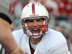 Stanford Cardinal quarterback Andrew Luck is the Heisman frontrunner this year.