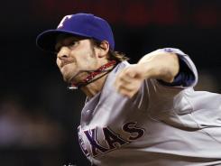 Rangers Game 1 starter  C.J. Wilson hopes to lower his 8.04 postseason ERA.