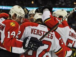 An influx of new players has moved the Florida Panthers' power play to second best in the league.