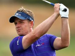 Luke Donald of England decided to add the Fall Series finale to his schedule in the chase for the PGA Tour money title.