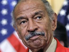 Rep. John Conyers, D-Mich., ranking member of the House Judiciary Committee, is urging the panel to hold hearings on college sports.