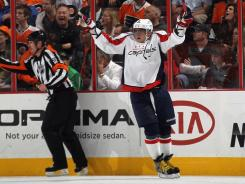 Alex Ovechkin scored two goals as the Capitals improved to 6-0 on the season.