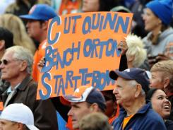 Tebow Nation has been vociferous in its support, calling for Denver coach John Fox to name him a starter when Kyle Orton struggled.