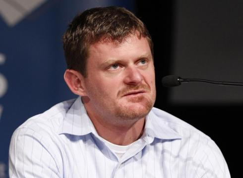 Floyd Landis, seen here at a September 2010 press conference in Australia, is on - Floyd-Landis-on-trial-in-French-lab-hacking-case-GOGFJ57-x-large