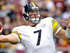 Pittsburgh quarterback Ben Roethlisberger went 25 for 38 with 340 yards and two touchdowns in the Steelers' victory over the Arizona Cardinals.