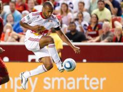 New York Red Bulls forward Thierry Henry  is one of 23 designated players in the MLS.