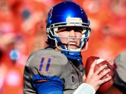 Kellen Moore led his highly-ranked Boise State Broncos to a win over Air Force on Saturday. But the game got just a 0.3 rating on Versus, showing what channel games air on can still matter.