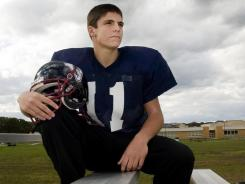 Tom Flacco, younger brother of Baltimore Ravens quarterback Joe Flacco, is the starting quarterback as a sophomore at Eastern High (Vorhees Township, N.J.).