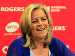 Stacey Allaster will lead the WTA through 2017.
