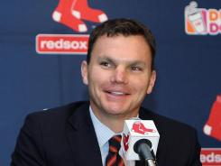 "Ben Cherington:  Says Red Sox ""have the core   of a really good team."""