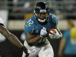 Maurice Jones-Drew rushed for 105 yards in the Jaguars' win over the Ravens, his second 100-yard performance of the season.