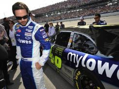 Jimmie Johnson's chances could be revitalized if he could win Sunday at Martinsville Speedway.