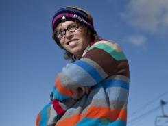 Snowboarder Kevin Pearce, 23, who suffered a serious head injury after crashing during halfpipe practice, says wearing a helmet probably saved his life. On Sunday, New Jersey will become the first state to require helmets for skiers and snowboarders under age 18.