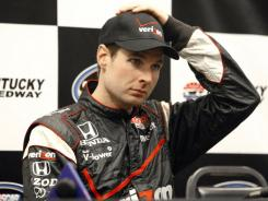 Will Power Power suffered a broken vertebra in his back in the Las Vegas crash where Dan Wheldon was killed.