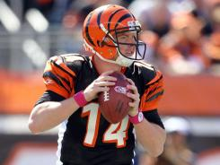 Rookie Andy Dalton has led the Bengals to a 4-2 start, matching Cincinnati's win total from 2010.