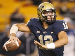 Redshirt junior Tino Sunseri accounted for three Pittsburgh touchdowns and set a career-high with 419 passing yards in his team's 35-20 victory over UConn.