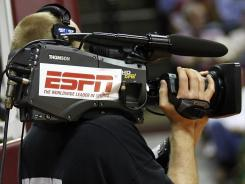 As college conferences continue to shift, some question the influence of ESPN, which has contracts with many conferences, schools and tournaments.
