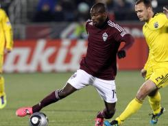 Colorado forward Omar Cummings notched the Rapids lone goal in the 45th minute to propel them into the second round of the MLS playoffs where they will take on Sporting Kansas City.
