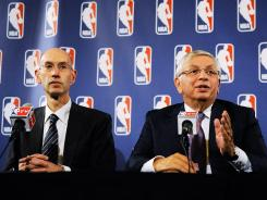 Deputy Commissioner Adam Silver and NBA Commissioner David Stern are getting closer to getting a deal done between NBA owners and players.