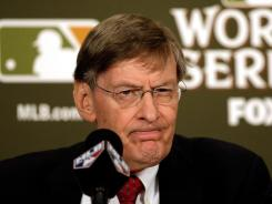 Bud Selig repeated his intention on Friday to retire as MLB commissioner in December 2012, though many people, including his wife, don't believe him.