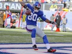 Victor Cruz's fourth-quarter TD catch proved decisive in the Giants' win over Miami.
