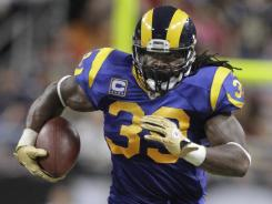 St. Louis Rams running back Steven Jackson had a big day against New Orleans Saints.
