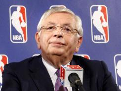 """NBA Commissioner David Stern says an 82-game season is no longer """"practical, possible or prudent."""""""