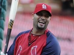Albert Pujols has spent his entire 11-year career with the Cardinals.