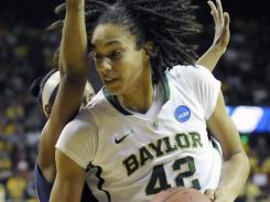 Baylor center Brittney Griner enters her junior season with 393 blocked shots, just 54 shy of the Big 12 career mark, and a string of 40 double-figure scoring games.
