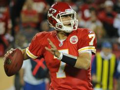 City Chiefs quarterback Matt Cassel led the comeback against the San Diego Chargers.