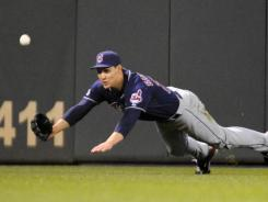 "Grady Sizemore, diving to make a catch against the Twins, ""adds star power"" to this year's crop of free agent outfielders, agent Joe Urbon says."