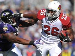 Arizona Cardinals running back Beanie Wells should overcome his sore knee and excel against the St. Louis Rams.