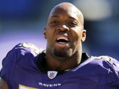 """There is certainly no love between Terrell Suggs' Ravens and the rival Steelers, who meet Sunday in Pittsburgh. """"We ain't bringing flowers,"""" Suggs says."""